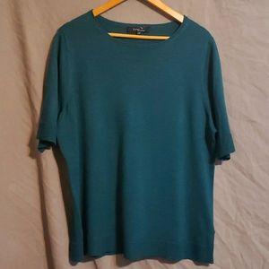 Toni T by Tony Plus short sleeved sweater